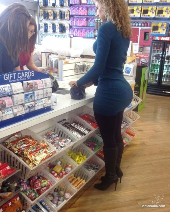 Large, round, woman butts - Pictures nr 40