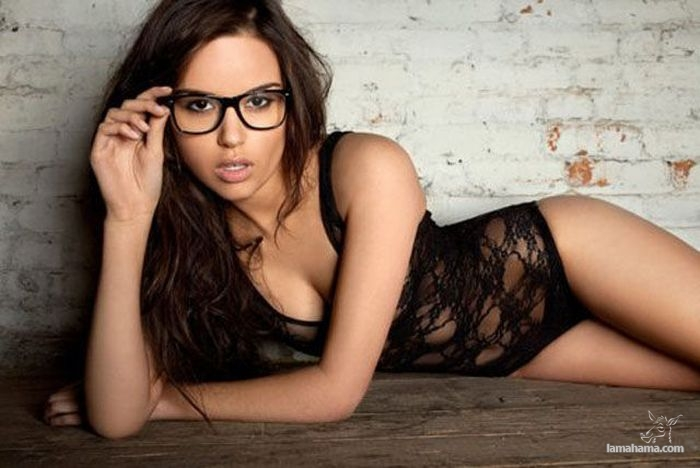 Sexy in glasses video