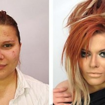 Before and after makeup - Pictures nr 858