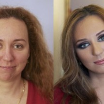 Before and after makeup - Pictures nr 2