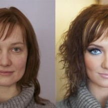 Before and after makeup - Pictures nr 3