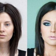 Before and after makeup - Pictures nr 4