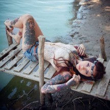Girls with tattoos - Pictures nr 3