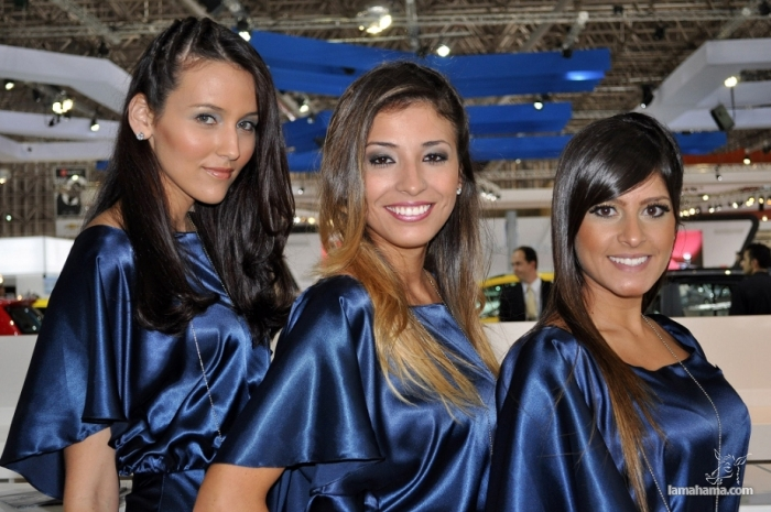 Brazilian Booth Babes from Auto Show - Pictures nr 1