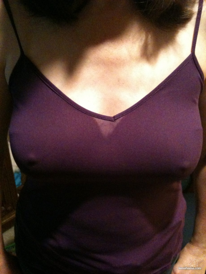 Girls without bras - Pictures nr 16