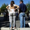 BIg butts in public places - Pictures nr 11